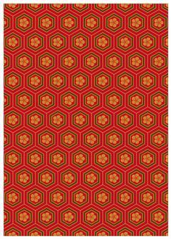 Japanese pattern texture tortoise crest