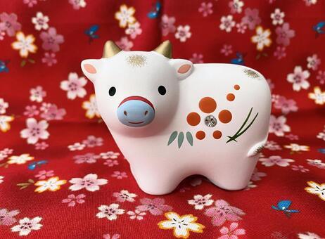 2021 Zodiac Ox figurine New Year decoration