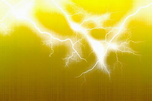 번개 · 금속 텍스처 2 노란색
