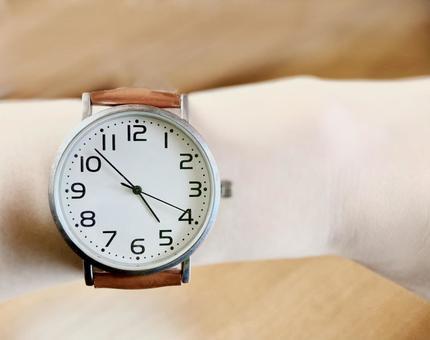 A little fluffy watch