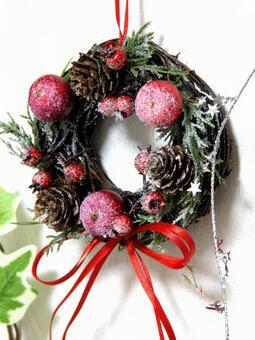 圣诞花环装饰