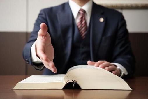 Attorneys seeking a handshake