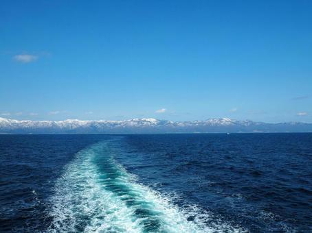 Cross the Sado Strait