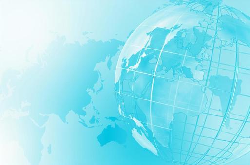 Blue digital network image background