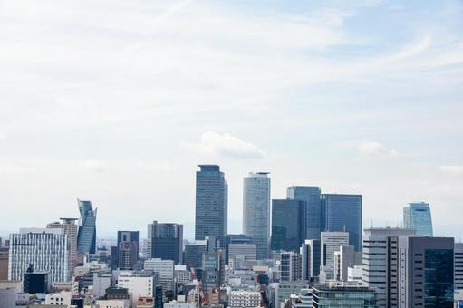 나고야 역 앞 고층 빌딩 TV 타워 전망대