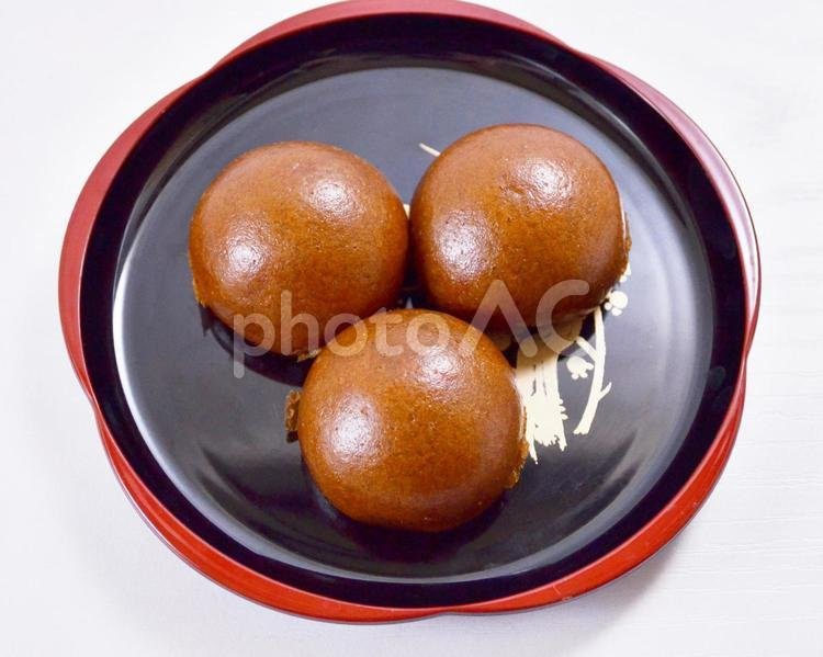 黒糖饅頭の写真