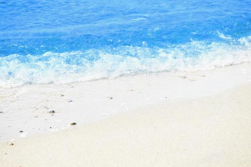 Sandy waves | Summer photo background material