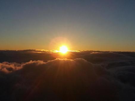 Sunrise from Mt. Fuji (2)
