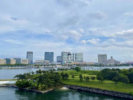 Scenery where you can see Odaiba