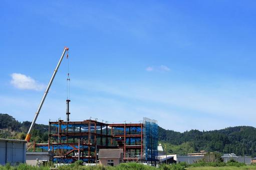 Construction site building construction