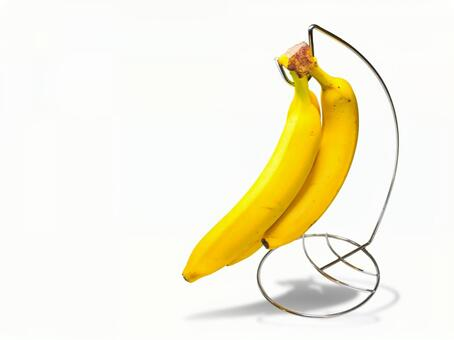 Banana stand holder background transparent psd