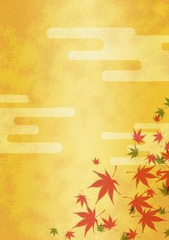 Texture 【Autumn leaves 05】