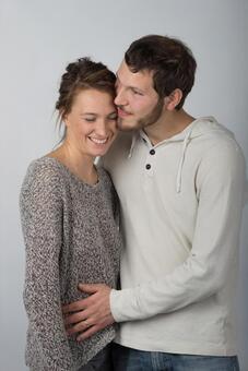 Hugging couple 5