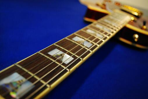 Electric guitar fingerboard