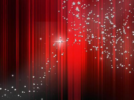 Background material · design · fine grain x stars, red