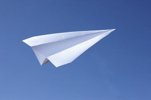 Paper flying machine 6