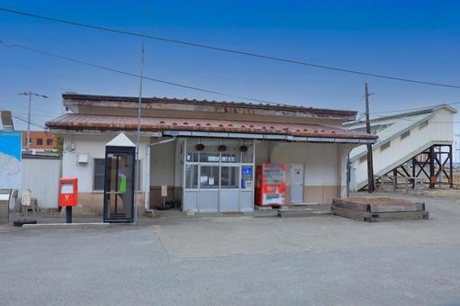 浦河 역 폐지 전의 역사