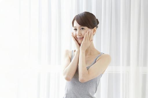일본인 여성 휴식 32