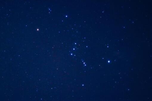Starry sky Orion night sky background starscape photo