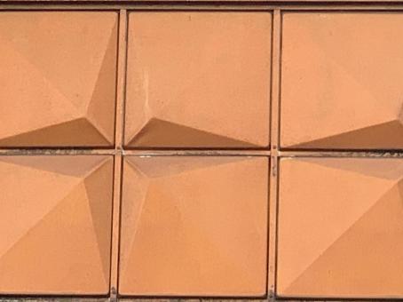 Orange geometric pattern