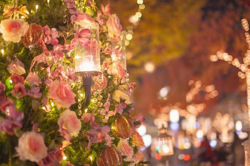 Luxurious flower Christmas tree 4