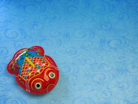 Tinplate goldfish