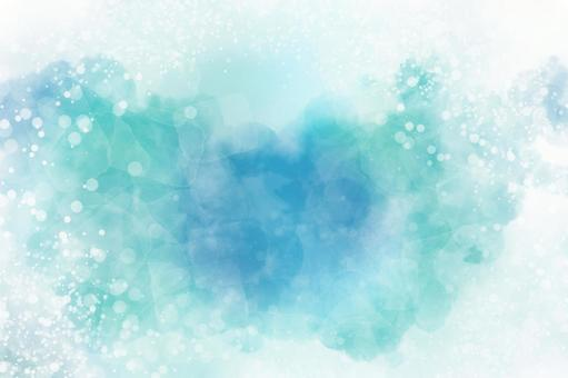 Ideal for cool and glittering watercolor background texture frames in summer ♪