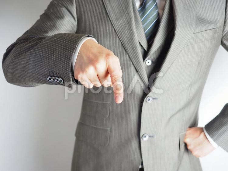 ビジネスマン【何度言えばわかるんだ!】の写真