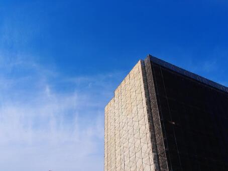 Exterior wall paint construction of condominium