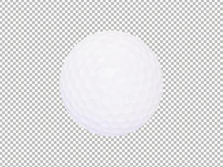PSD format transparent_Golf ball / sports / accessories / miscellaneous goods