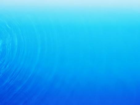 Water surface and ripple