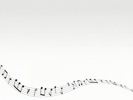 Musical note · Music background material · Simple 02