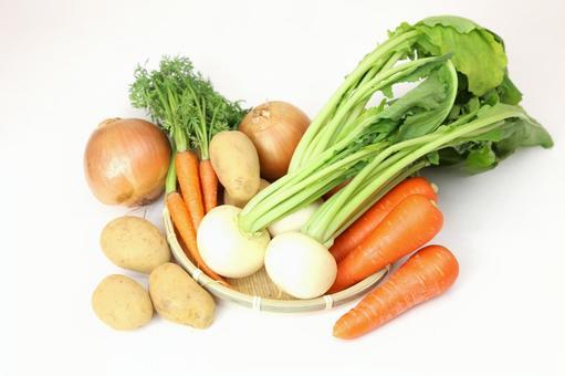 Vegetables that entered the monkey 4
