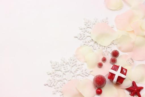 礼品和花瓣