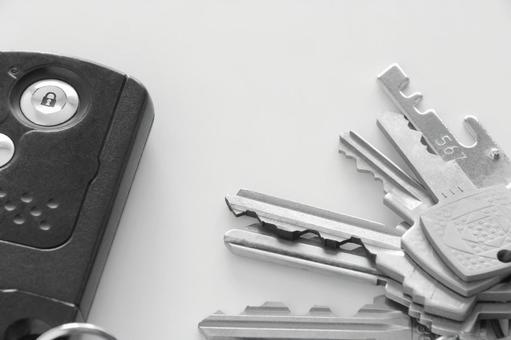 열쇠 흑백