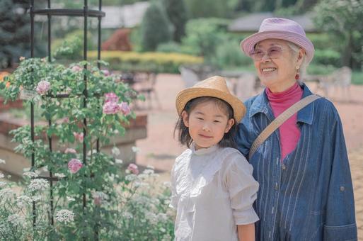 奶奶和孫子