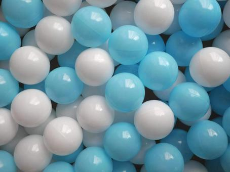 Ball pool ball color ball colorful white light blue toys