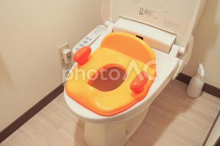 トイレトレーニングの写真