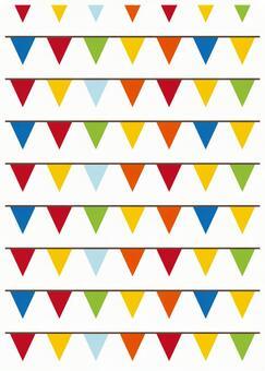 Scandinavian design flag white