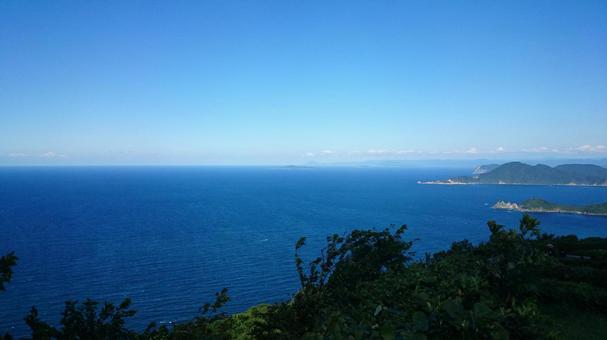 진정한있어 일본해로 퍼지는 수평선