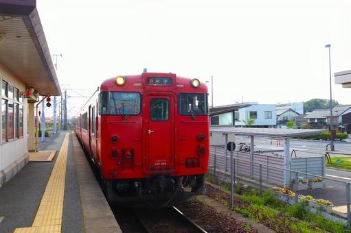 시마네 현 기차