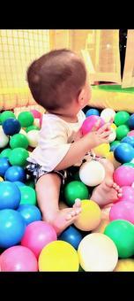 Baby and ball pool