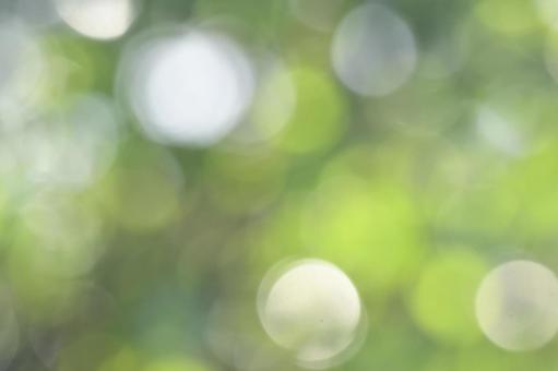 Bokeh ball on a shining background