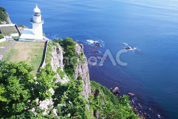 絶景の地球岬の写真