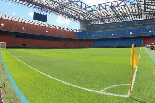 From San Siro Stadium Corner
