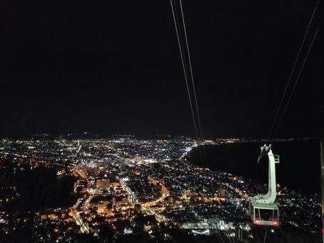 Night view from Mt. Hakodate