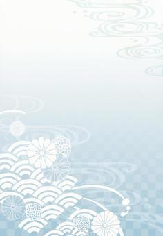 Background (and handle 1 縦 · blue)