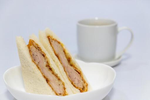 치킨 커틀릿 샌드