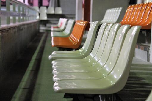 Gymnasium spectator seats
