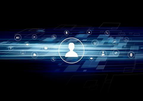 Digital icon account communication